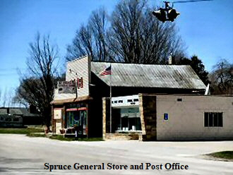 Spruce General Store and Post Office 330 x 248