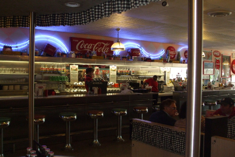 Dawson's Restaurant & Coca-Cola Museum in Grayling