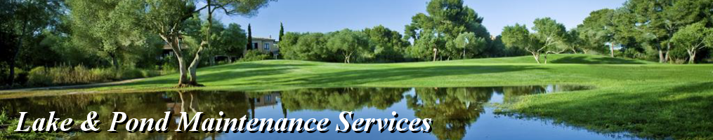 Masthead - Lake & Pond Maintenance Services