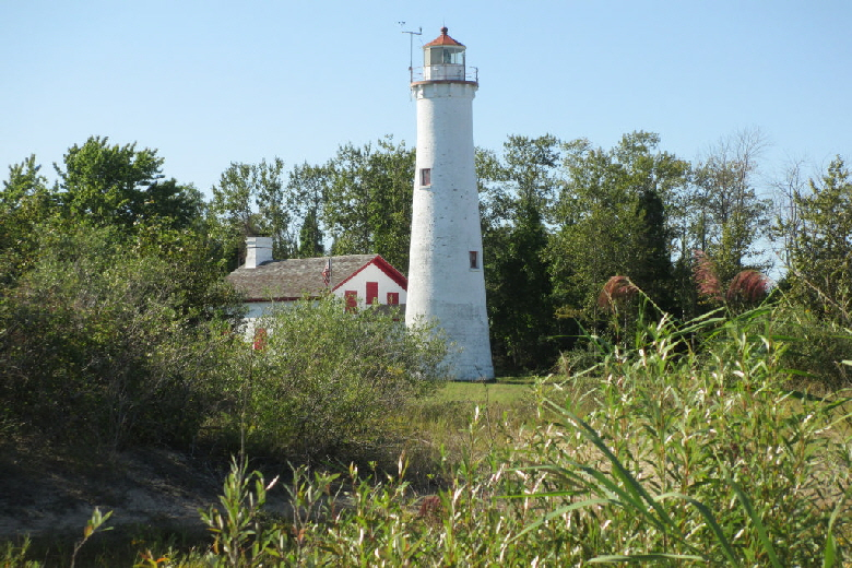 Sturgeon Point Lighthouse at Harrisville