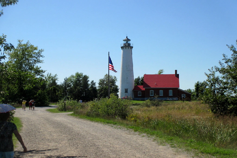Tawas Point Lighthouse at East Tawas